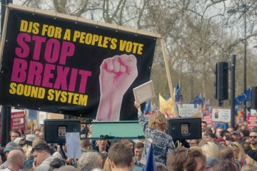 Stop Brexit Now! Sound System Featured Image