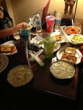 Romantic Italian dinner