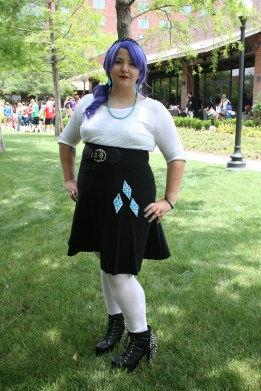 Liz as Rarity