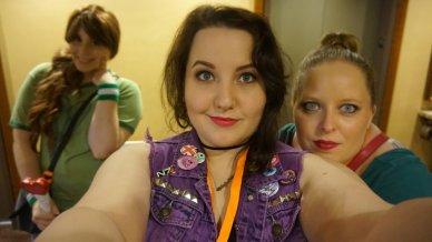 Mia, Liz, and I.