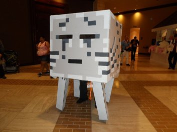 A Ghast from Minecraft!