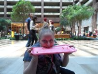 Me - End-of-con silliness.