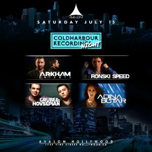 coldharbour night at avalon | july 15, 2017