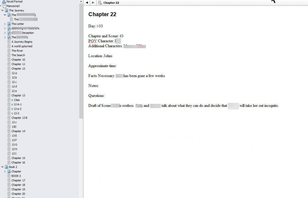 Example Scrivener chapter