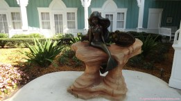Ariel Statue - Beach Club Villas DVC