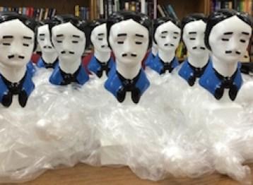MWA Edgar statuettes