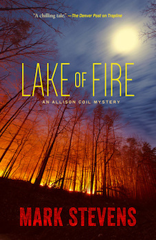 "Book Cover ""Lake of Fire"""
