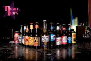 Night Trips Bottled Beer Selection