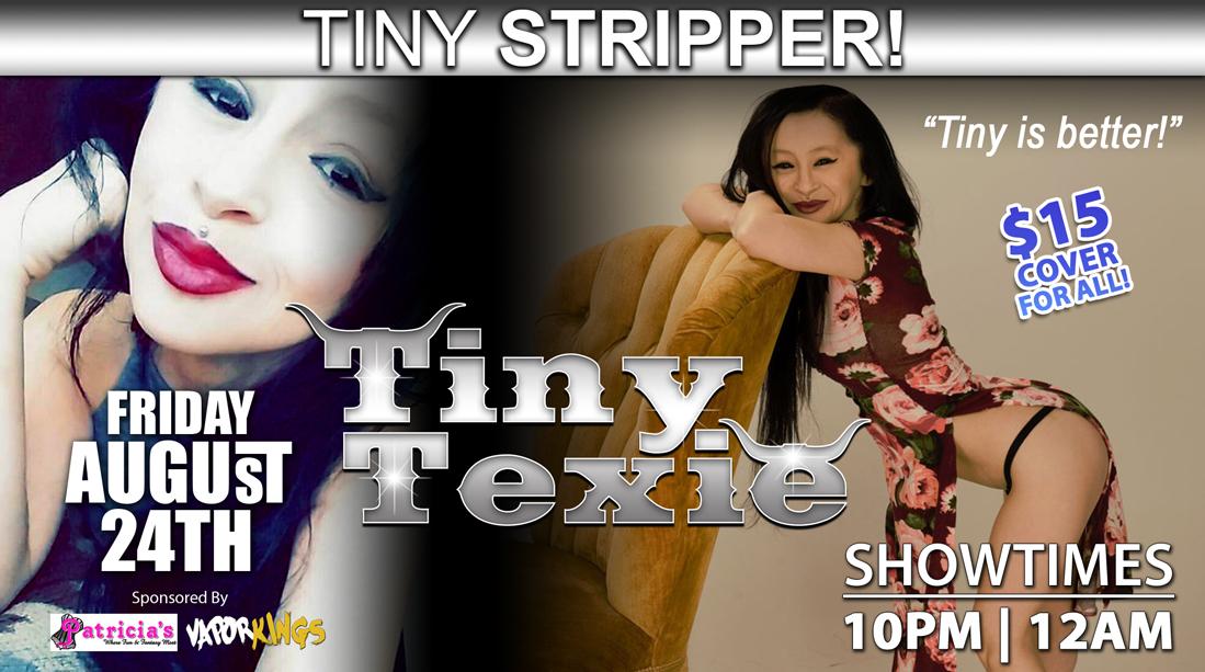 Tiny Texie Midget Stripper! - Night Trips Tulsa
