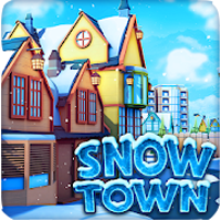 Snow Town - Ice Village World Winter Age Apk Mod moedas infinita