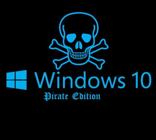 pirate windows 10