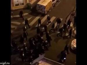 Теракты в Париже. Видео от очевидцев