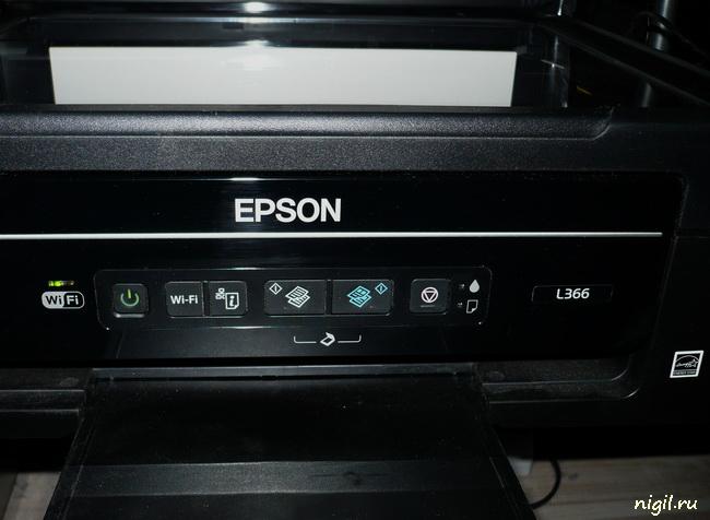 Обзор МФУ Epson L366. Ксерокопирование