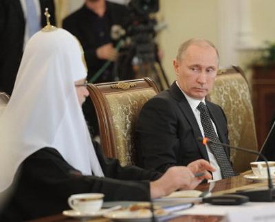 Патриарх наехал на Путина! Видео