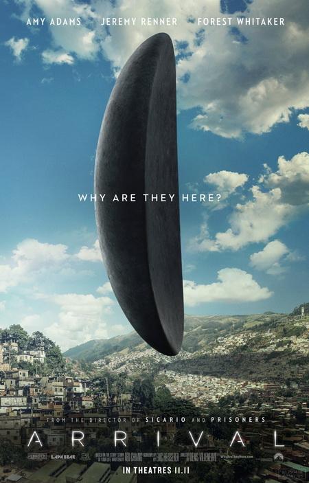 Очередной фильм про пришельцев — ПРИБЫТИЕ. Анонс и трейлер