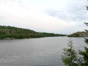 Река Умба , ближе к выходу в Белое море