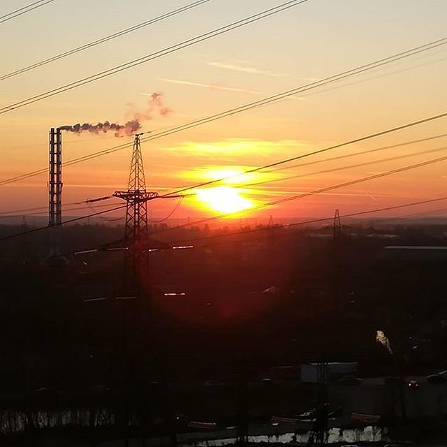 Не было печали, просто заходило солнце...#питер #закат