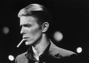 カルト的人気を誇ったDavid Bowie 典拠: slate.com