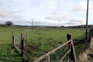 Former railway route Moorfields