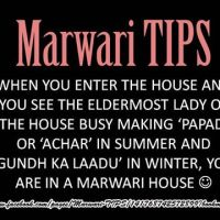 """Marwari's are synonym to """"Food""""!!"""