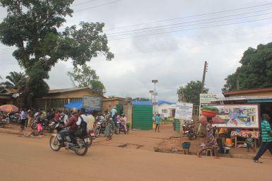 Hospital Kenema para tratamiento del ébola, Sierra Leone