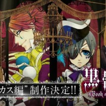 "Black Butler Staffel 3 ""Book of Circus"" und OVA ""Book of Murder"""