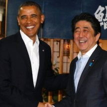 Obama soll angeblich nur die hälfte von seinem Luxus-Sushi gegessen haben
