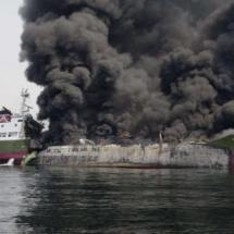 Öl-Tanker vor Japan explodiert!