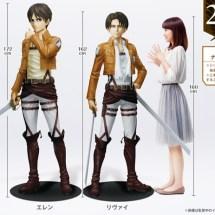 Japan's 7-Eleven verkauft lebensgroße Attack on Titan Statuen für über 12.000 €!