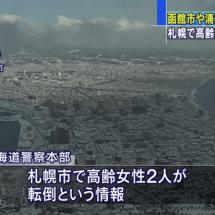 Starkes Beben wütete in Hokkaido, Aomori