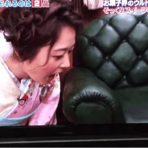 Japanische Fernsehsendung lässt Kandidaten in Möbelstücke beißen!