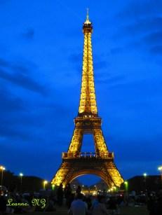 Paris, The Eifel Tower