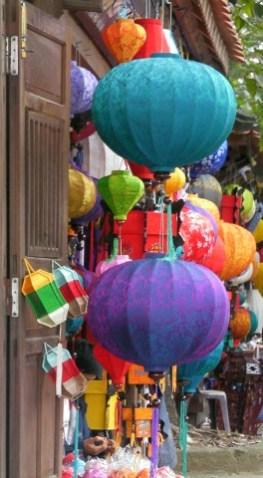 Glossy vibrant lanterns, HoiAn