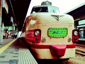 特急みどり・ボンネット型485系