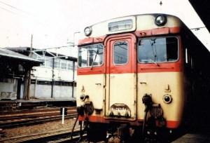 急行丹後・京都駅で