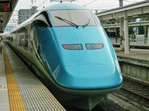 とれいゆつばさ号・山形駅