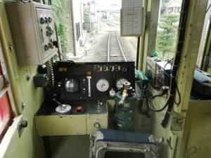 嵯峨野トロッコ・客車最後尾が先頭?