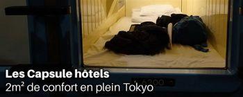 Les Capsulle hotel, 2m2 de confort en plein Tokyo