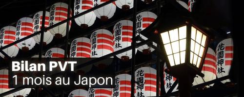 PVT Japon 1 mois