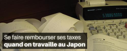 Se faire rembourser ses taxes quand on travaille au Japon