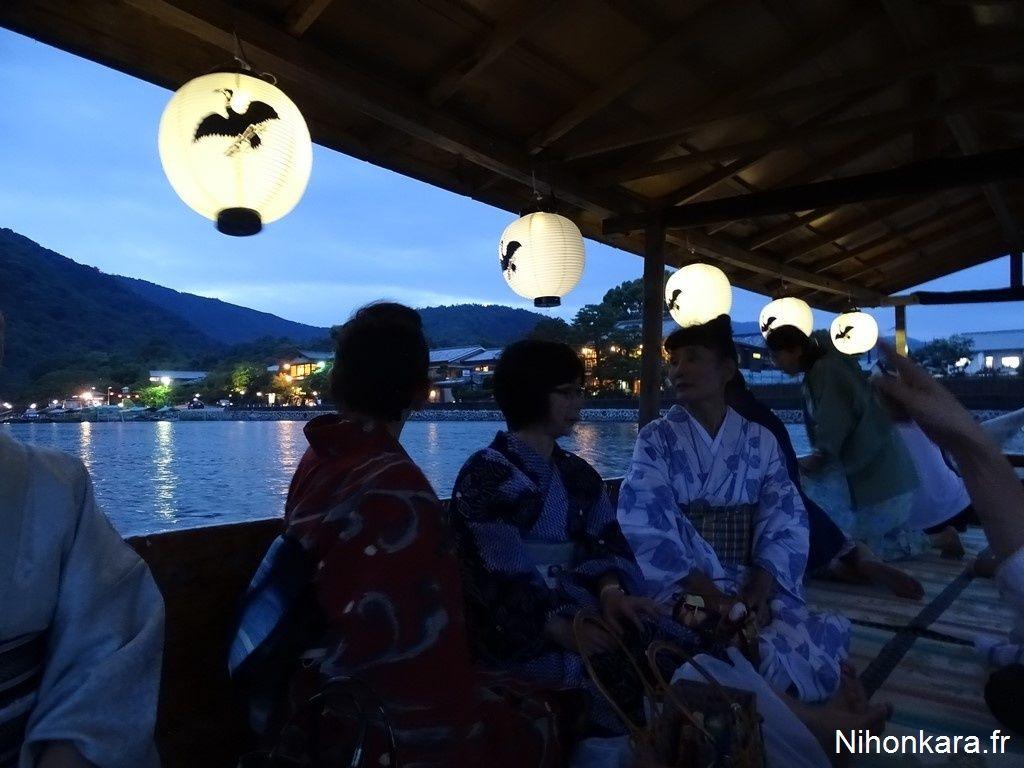 Les activités d'Arashiyama
