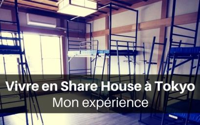 Vivre en share house à Tokyo