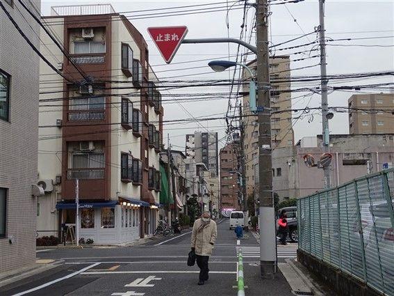 Un centre ville au Japon