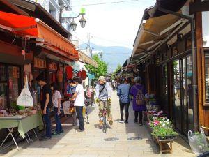 Le centre-ville de Matsumoto