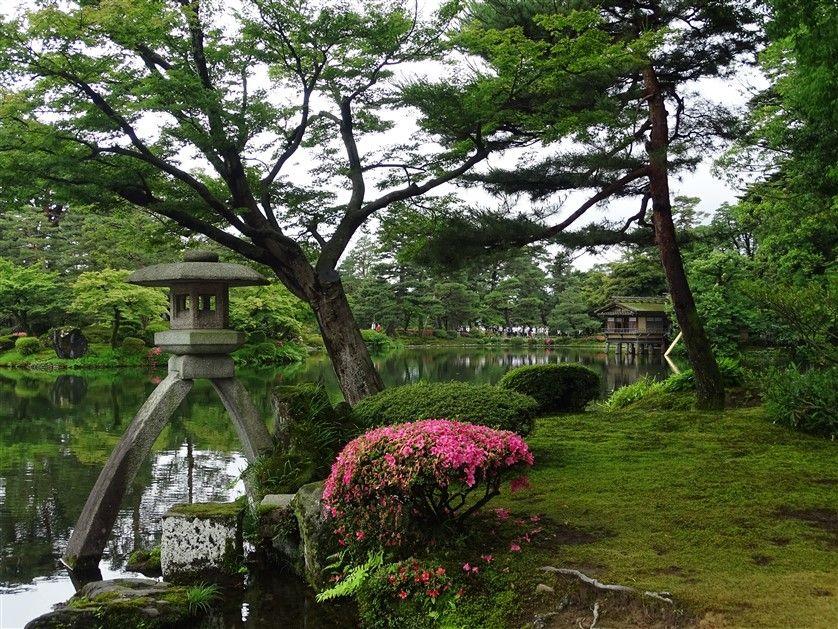 Kenrokuen le jardin de Kanazawa