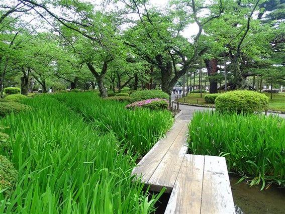 Kenrokuen le parc de Kanazawa