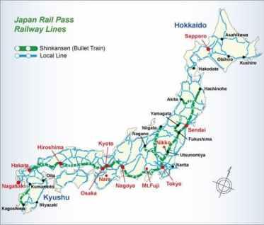 Carte JR Pass