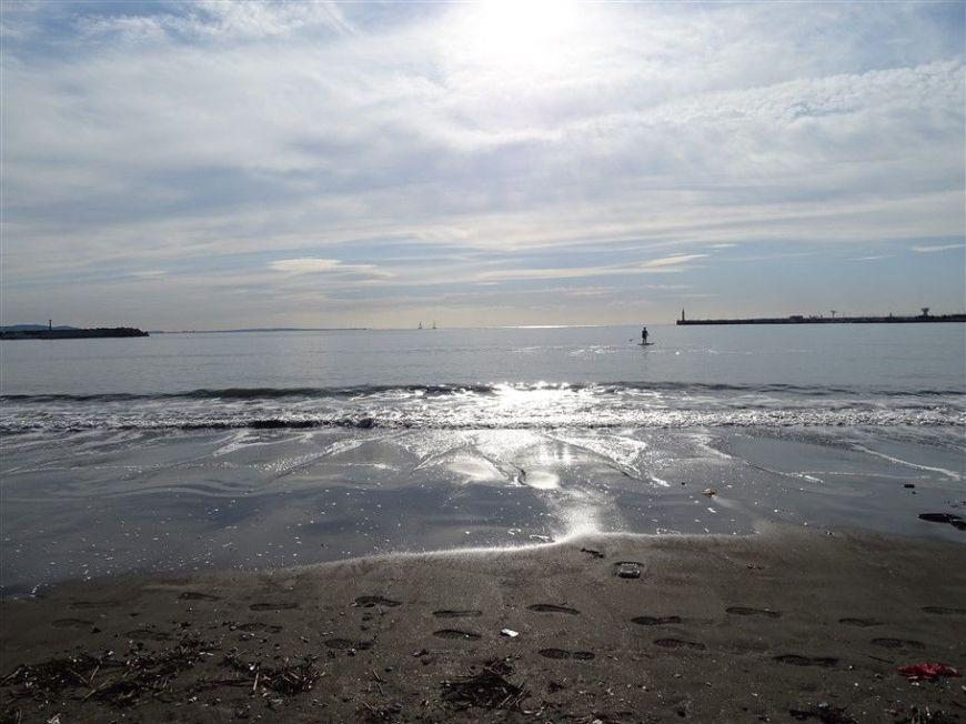 la plage d'Enoshima