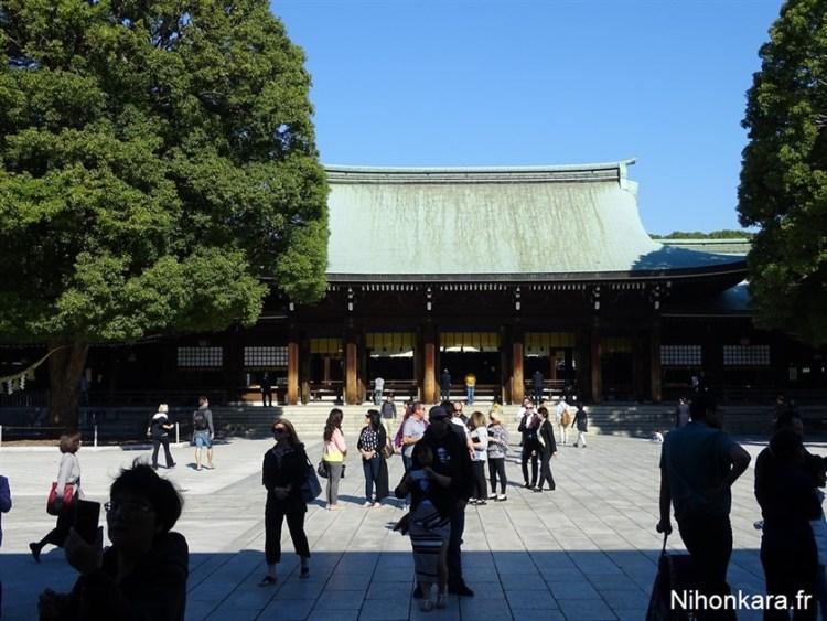 Meiji Jingu, le sanctuaire de Yoyogi