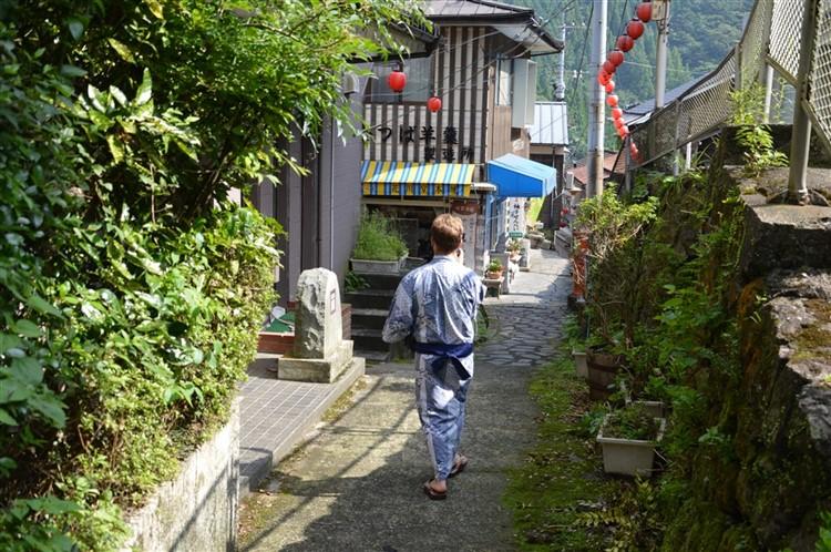 Une balade en Yukata